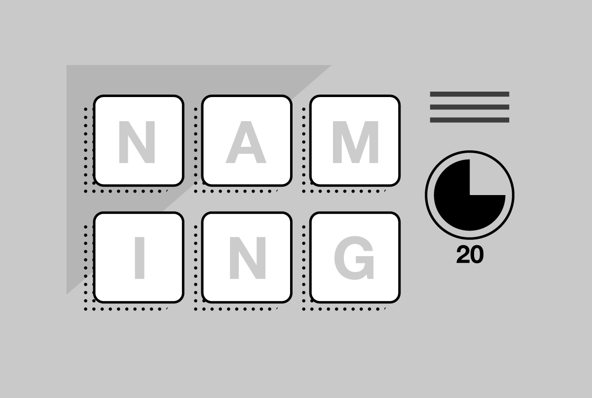 Namestorming: How to Choose A Brand Name in 20 Minutes or Less