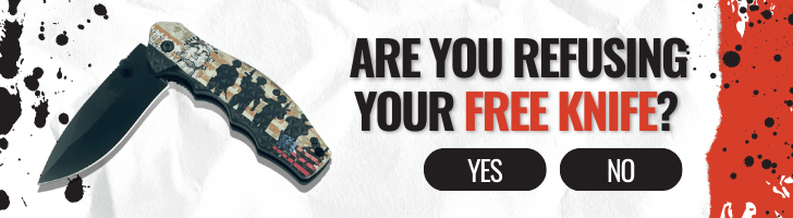 Are you refusing your Free Knife?