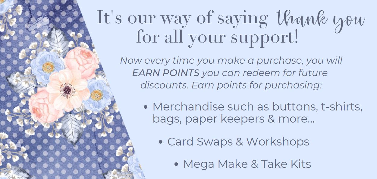 Earn Points by purchasing